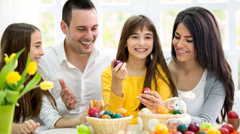 Pasqua in famiglia
